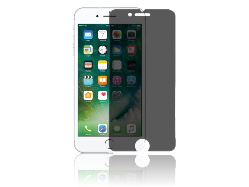 Image of   Privacy Glas til iPhone 7 Plus / 8 Plus