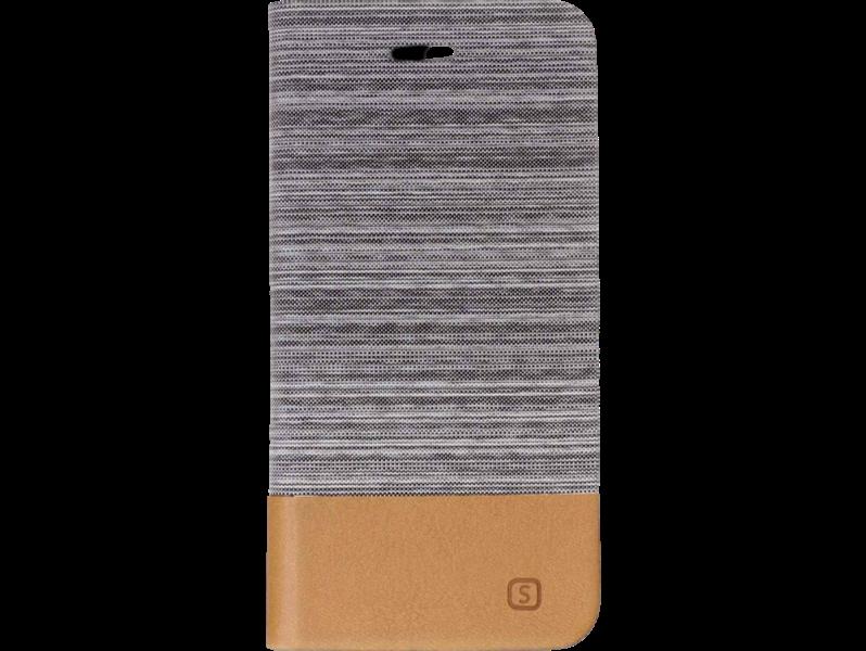 Image of   Bedara flipcover i PU læder til OnePlus 5T-Lysegrå