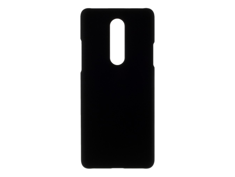 Soft Touch Cover til OnePlus 8-Sort