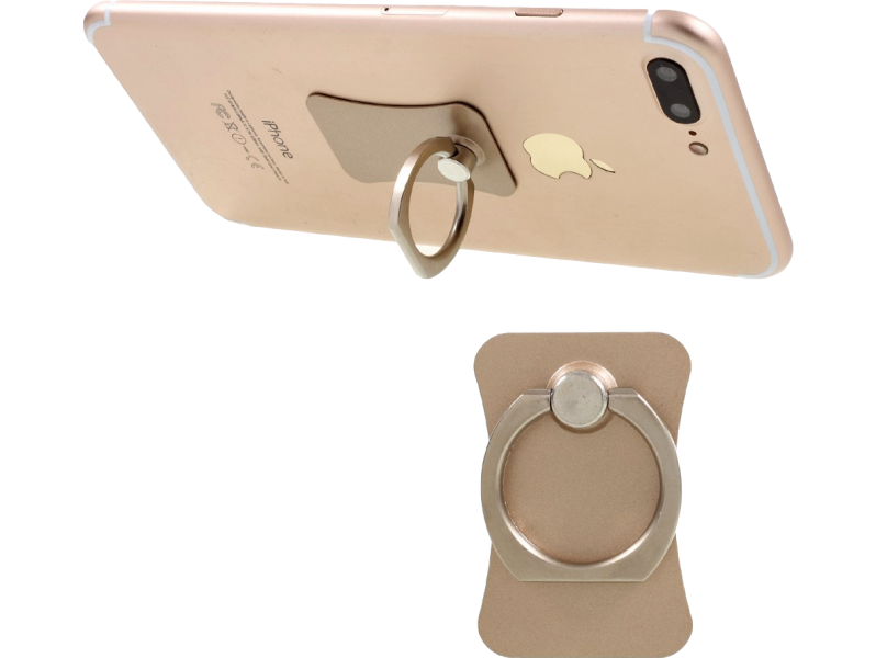 Image of   Ring-holder til iPhone og andre Smartphones-Guld