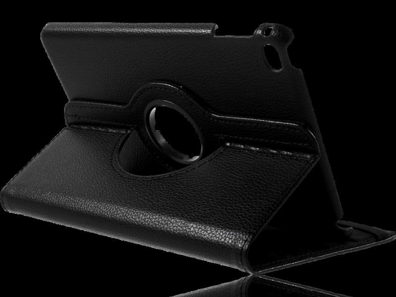 Image of   Laggan 360 graders flipcover i PU læder til iPad mini 4-Sort