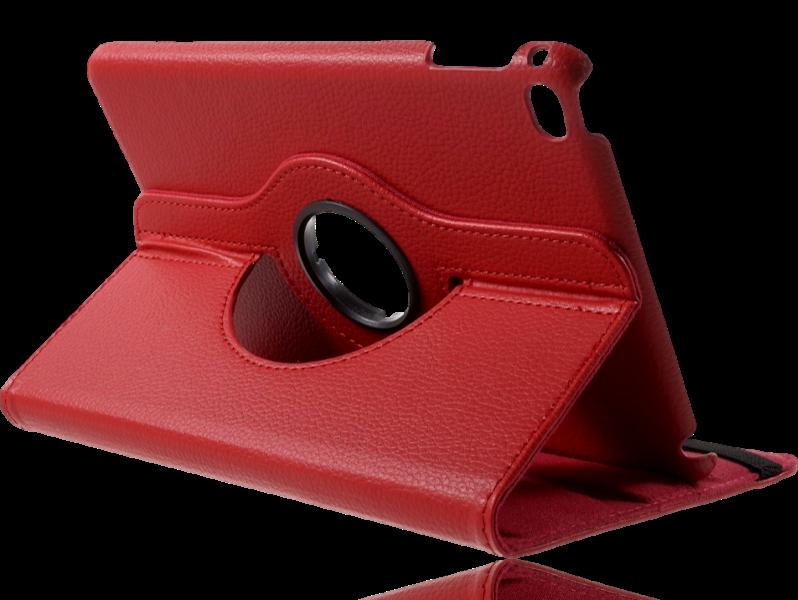 Image of   Laggan 360 graders flipcover i PU læder til iPad mini 4-Rød