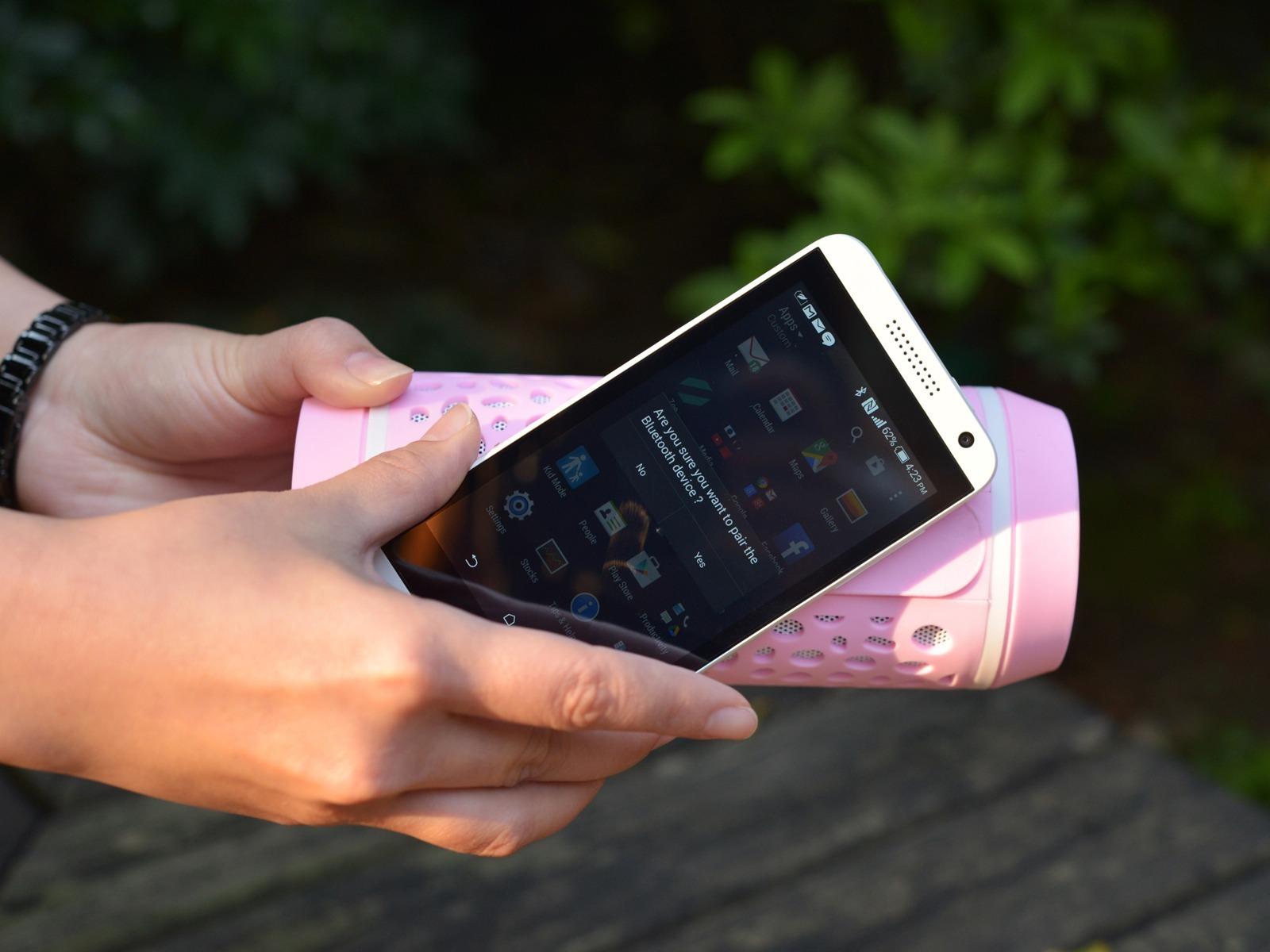 LEPA - Bluetooth udendørs Højtaler-Pink