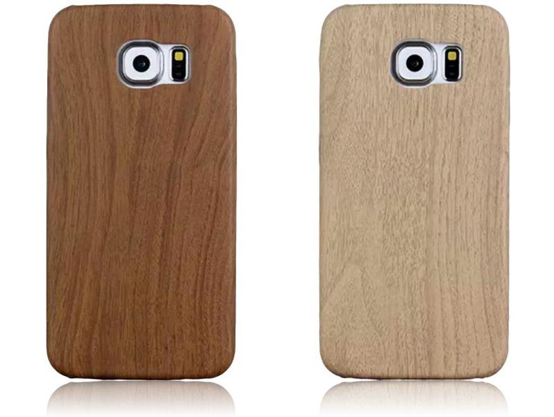 Image of   Træ cover til Samsung Galaxy S6