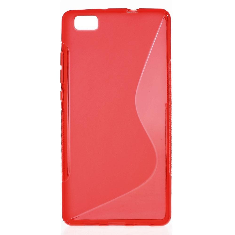 Image of   Gamma cover til Huawei P8 Lite-Rød