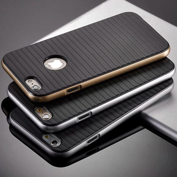 Stødsikkert silikone cover til iPhone 5/5s/SE