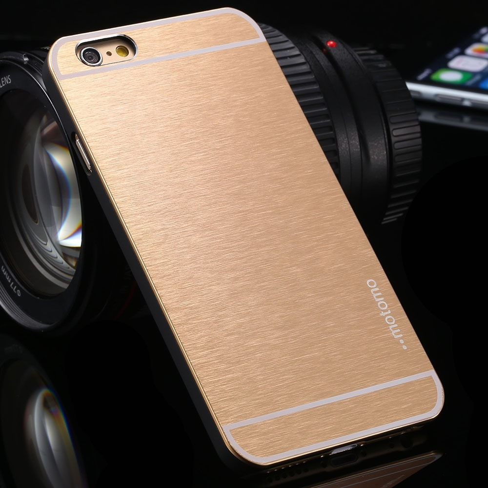 Guld iPhone 6 / 6S Hard Cover i Aluminiun