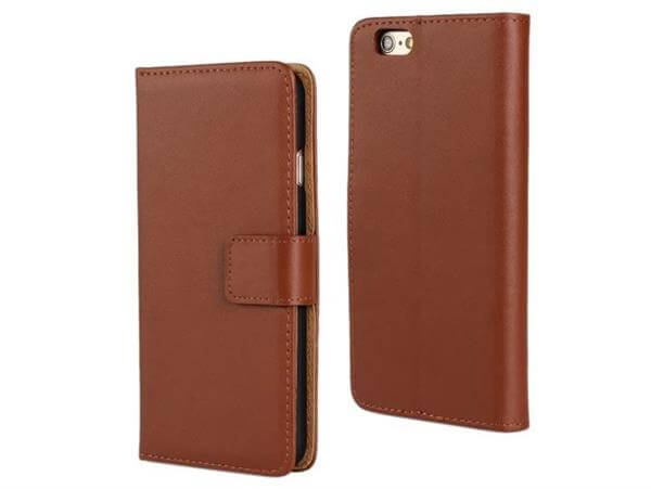 iPhone 6 / 6S Flip Cover / Pung-Brun