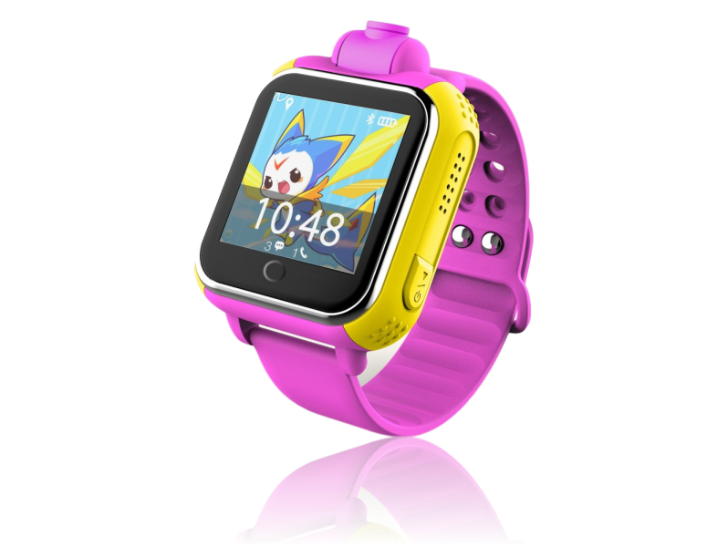 3G Smartwatch m/ GPS til Børn-Pink