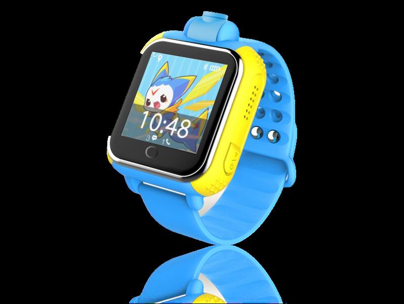 3G Smartwatch m/ GPS til Børn-Blå