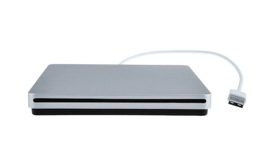 Super slim superdrive - ekstern CD/DVD drev til Mac & windows