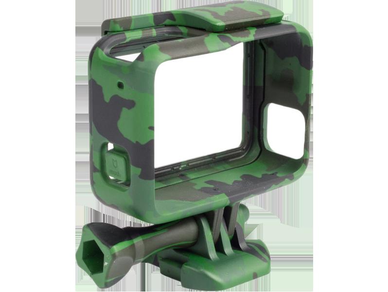 Image of   Camouflage Frame Housing til GoPro 5 / 6 / 7-Grøn