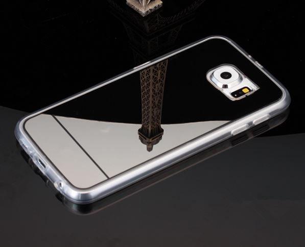 Pontos tpu cover til Samsung Galaxy S6-Sort