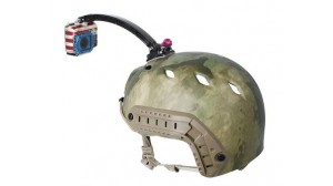 Image of   Helmet Extension Arm Mount til GoPro