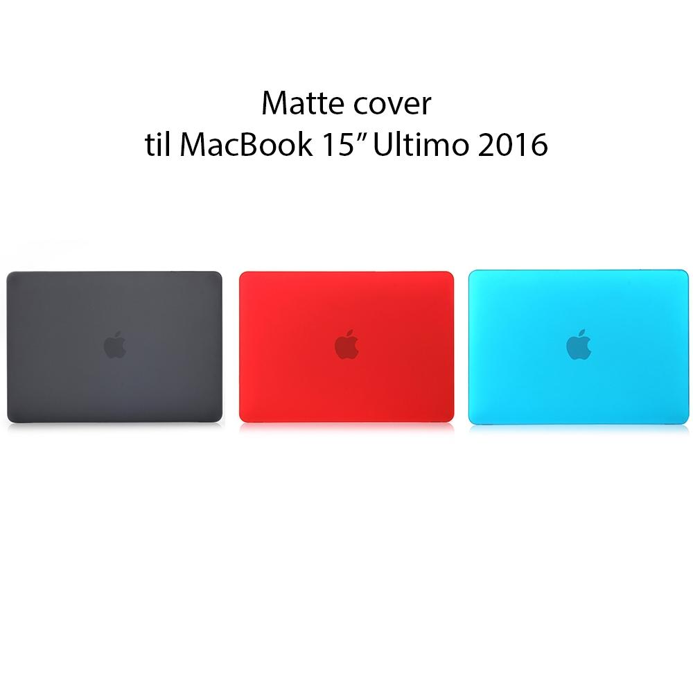 """Image of   Matte cover til MacBook Pro 15"""" Ultimo 2016-19"""