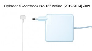 "Image of   60W oplader til Macbook Pro Retina 13"" (2012-2015)"