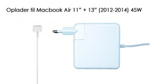 "Image of   45W Oplader til Macbook Air 11"" + 13"" (2012-2015)"
