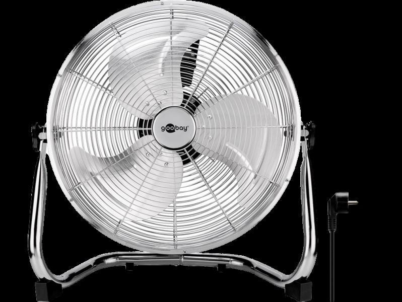 Image of   40cm Retro Gulvventilator