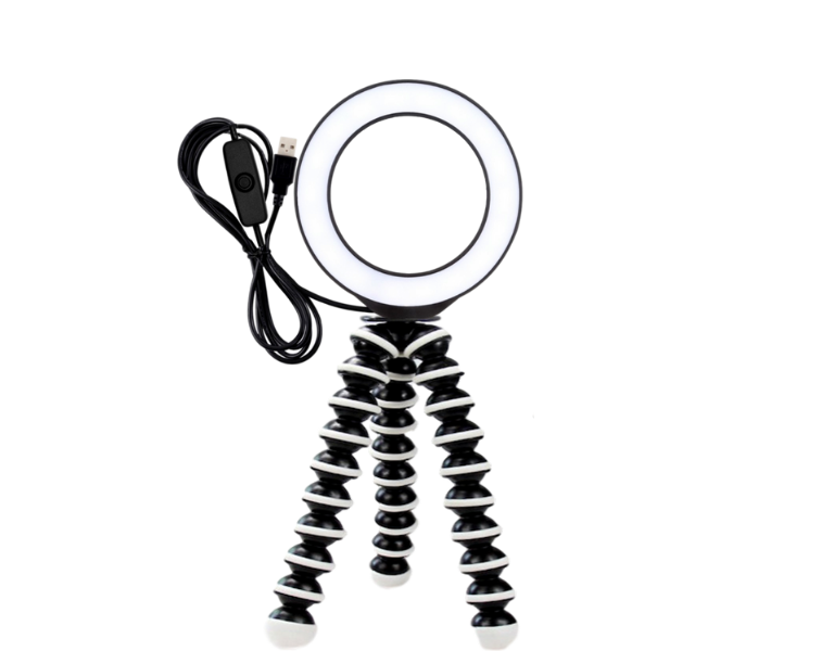 Image of   12cm Mini Ringlys m/ Gorillapod