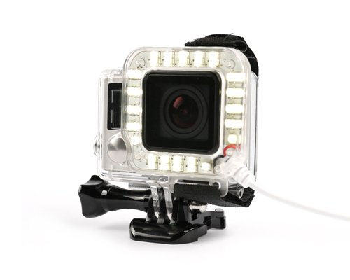 Image of   LED Light / Lys Ring til GoPro 3+ & 4