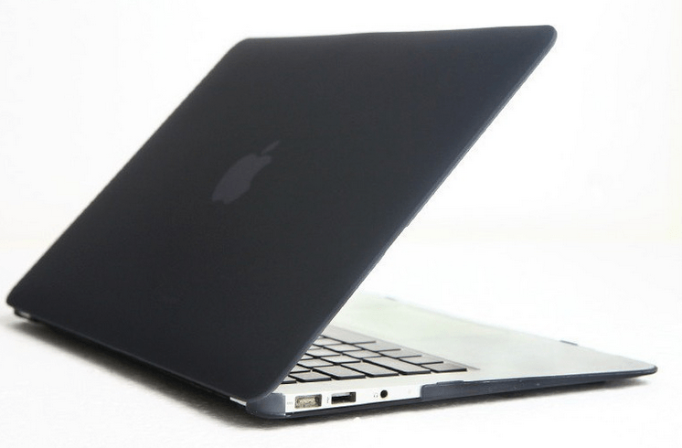 Billede af Klar sort cover til Macbook Air 13""