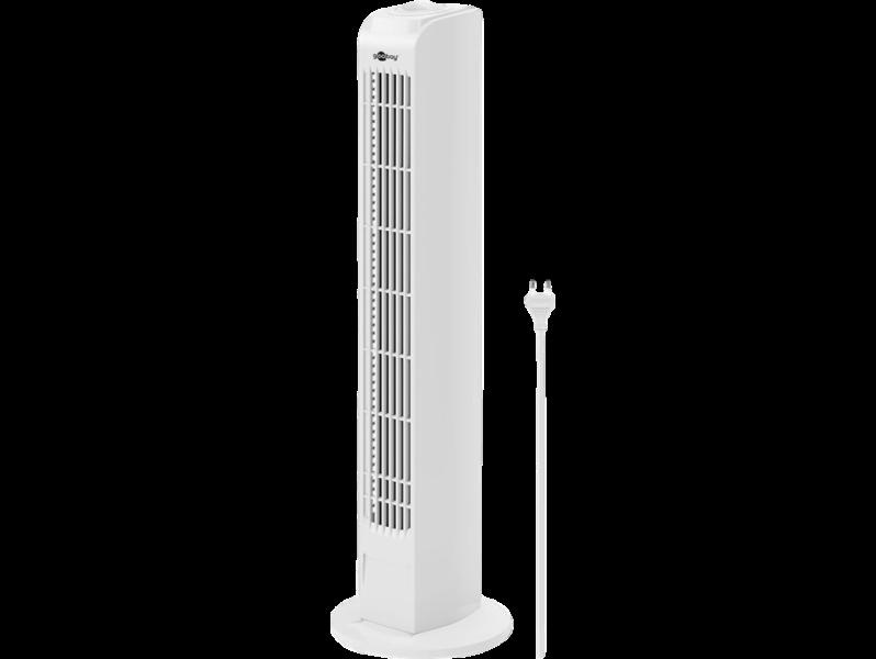 Billede af Hvid Tårnventilator m. Rotation