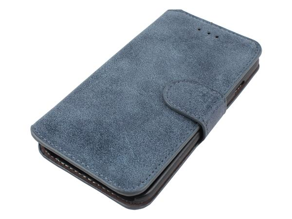 iPhone 6 / 6S Læder Flip Cover-Grå