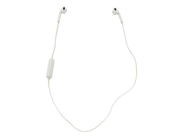 Trådløst iPhone & mobil Headset - Bluetooth 4.1 i Hvid