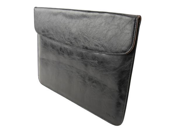 Dublin sort læder sleeve 13″