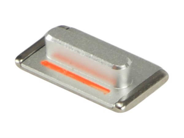 Image of   Mute / lydløs knap til iPhone 5-Sølv
