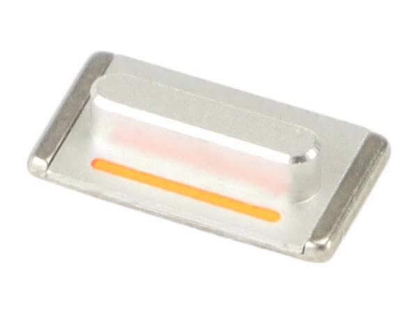Image of   Mute / lydløs knap til iPhone 5s-Sølv