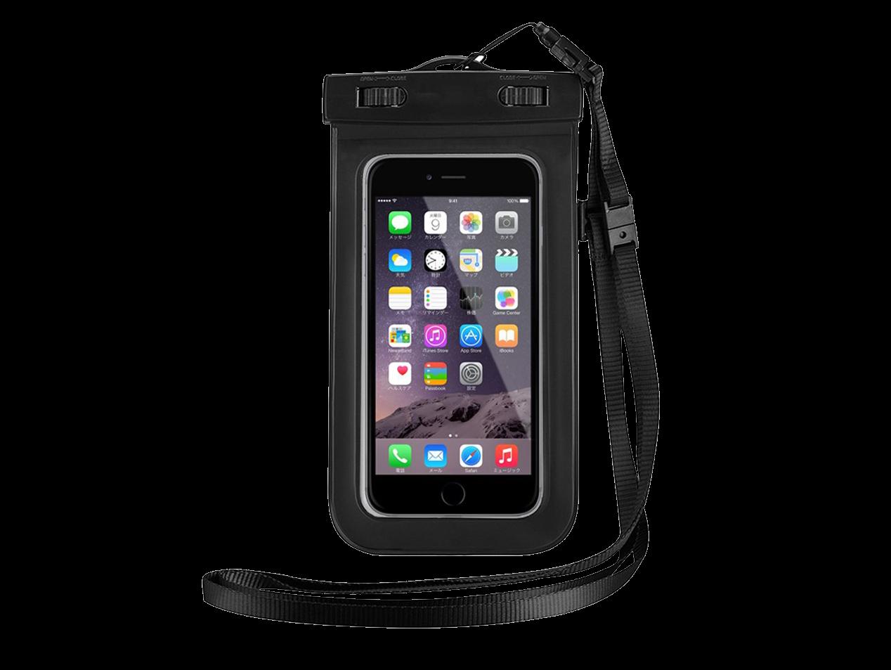 Image of   Vandtæt taske / etui til mobil