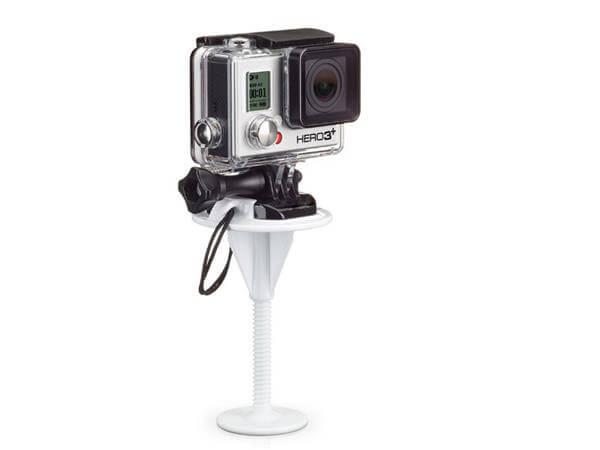 Image of   GoPro mount til surfboard-Hvid