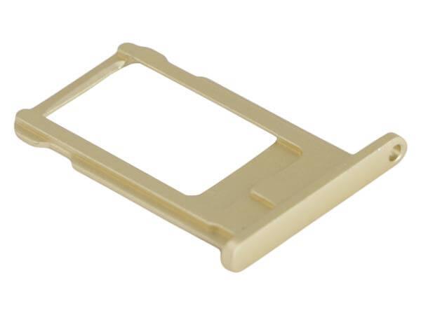 Image of   Simkortskuffe til iPhone 6-Guld