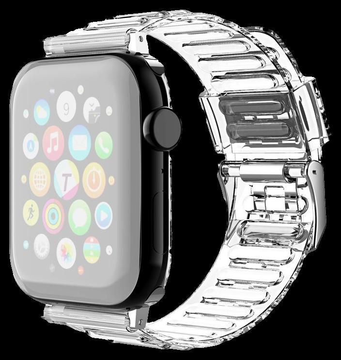 Manino Silikone Rem til Apple Watch 3 - 42mm