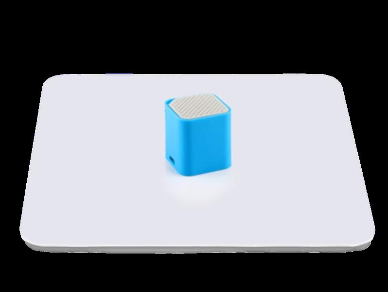 Image of   40cm Fotoplade -Hvid