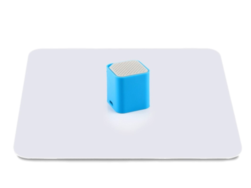 Image of   20cm Fotoplade -Hvid