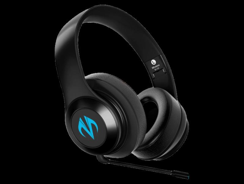Billede af BC10 Bluetooth Gaming Headset m. LED Lys - Sort