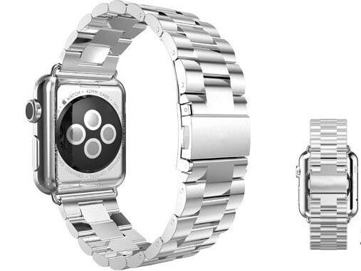 Apple Watch rem / urlænke i rustfrit stål