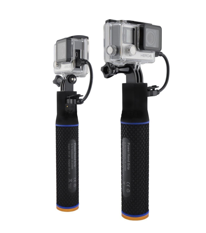 Power Pole GoPro-stang med ekstra batteri
