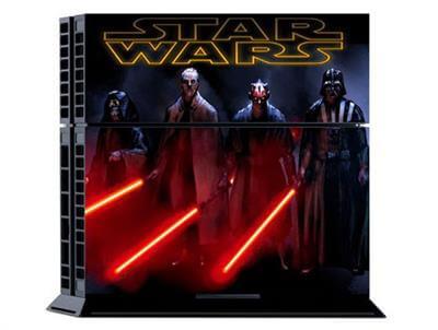 Star Wars skin til Playstation 4 med Darth Vader