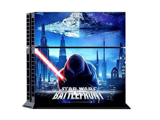 Star Wars Sticker til PS4 - Battlefront Blå