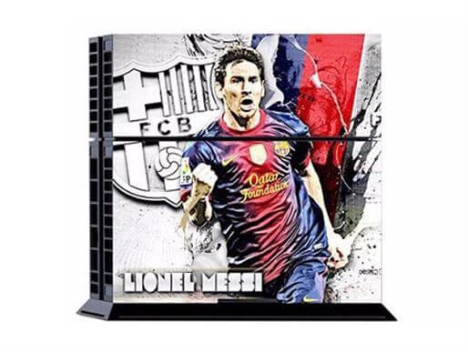 Image of   Lionel Messi Skin til PS4
