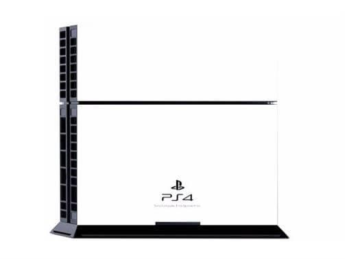 Hvidt Skin til Playstation 4