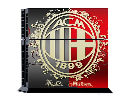Image of   AC Milan Skin til Playstation 4