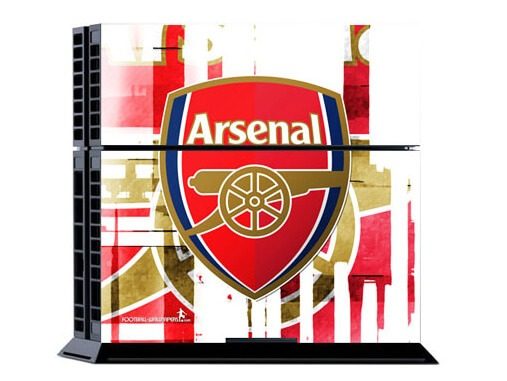 Image of   Arsenal: Stribet Skin til Playstation 4
