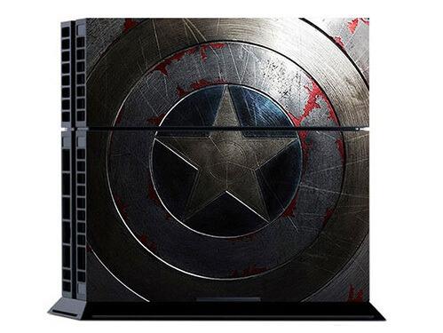Image of   Captain America Skin til Playstation 4