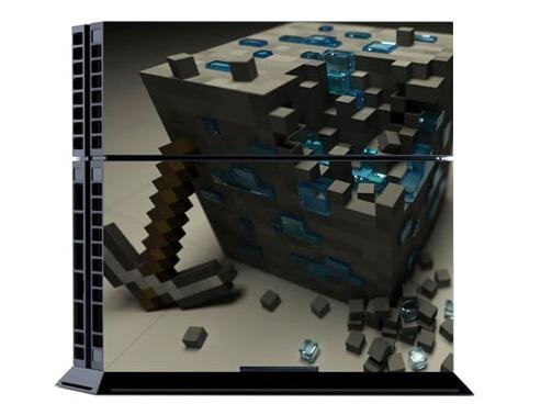 Image of   Minecraft Skin til Playstation 4