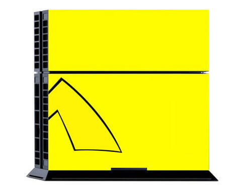 Image of   Pikachu Skin til Playstation 4