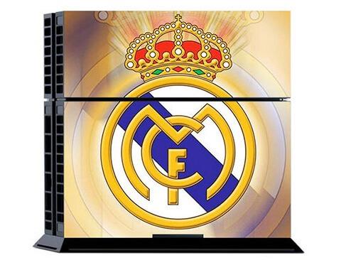 Image of   Real Madrid Skin til Playstation 4
